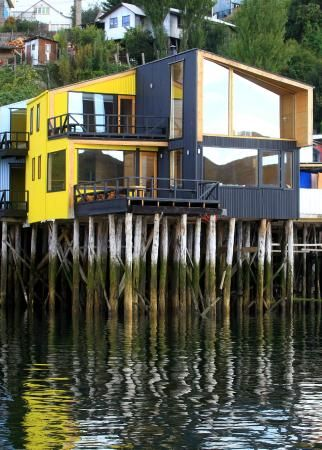 Hotel Palafito del Mar in Castro, Chiloe