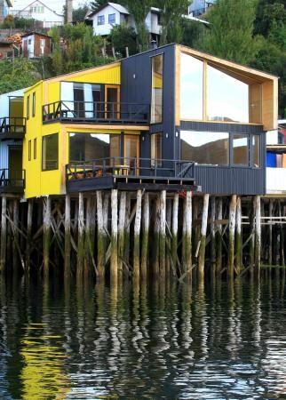 Hotel Palafito del Mar in Castro, Chiloe