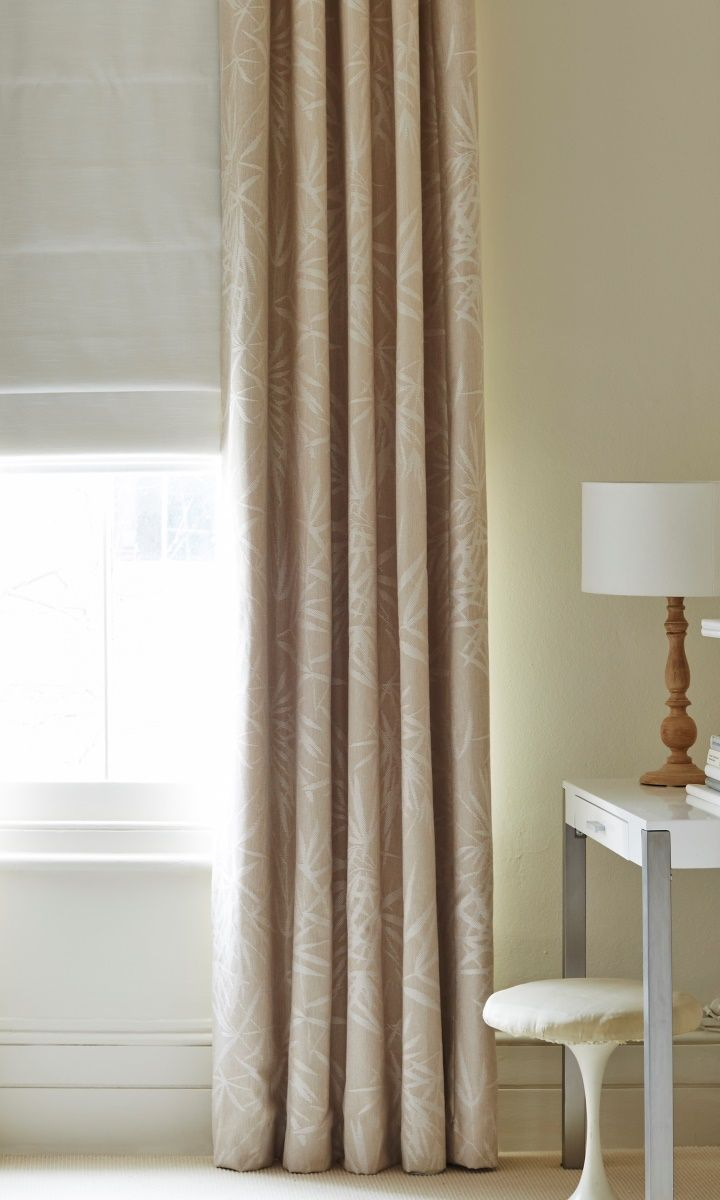 Our Bamboo Linen curtains are the perfect