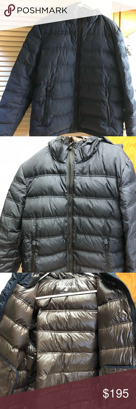 Michael Kors Men's Down Jacket Michael Kors puffer Men's jacket. Worn once on Christmas Day it's just too small on me. Feel free to ask questions thank you. Michael Kors Jackets & Coats Puffers