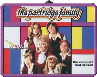 Partridge Family - Season 1 [Lunchbox] (3-DVD) (2008) - Television on Starring Shirley Jones, David Cassidy, Danny Bonaduce & Susan Dey; Sony Pictures Television | OLDIES.com