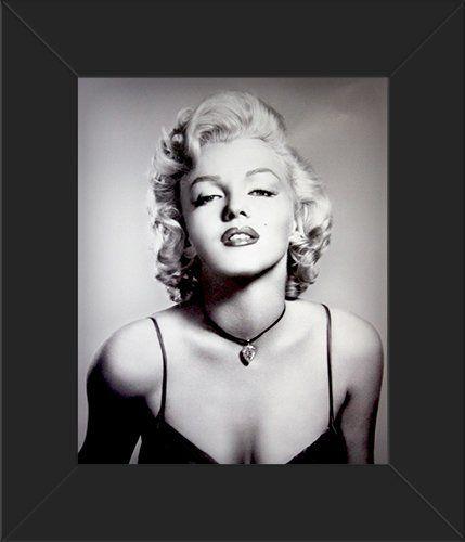 8x10 Poster Print FRAMED Glossy Marilyn Monroe - Portrait Innerwallz ...