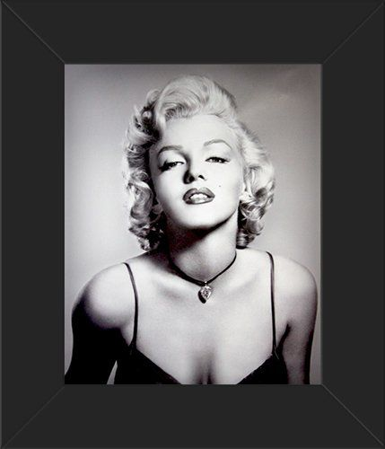 8x10 framed glossy poster marilyn monroe portrait innerwallz httpwwwamazon