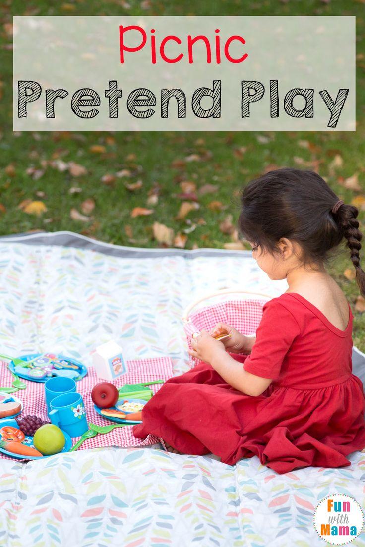 Picnic Pretend Play For Preschoolers Fun With Mama Blog