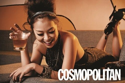 Lena Park comments on her nickname, 'nation's fairy': Parks Cosmopolitan, Magazines December, Lena Parks, Korea Magazines, Parks Jokes, Singers Lena, Parks Comments, National Fairies