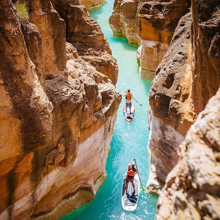paddle boarding in the grand canyon...yes!
