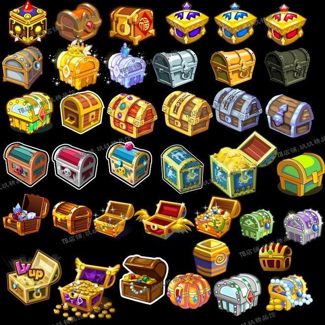 chest icons inapp