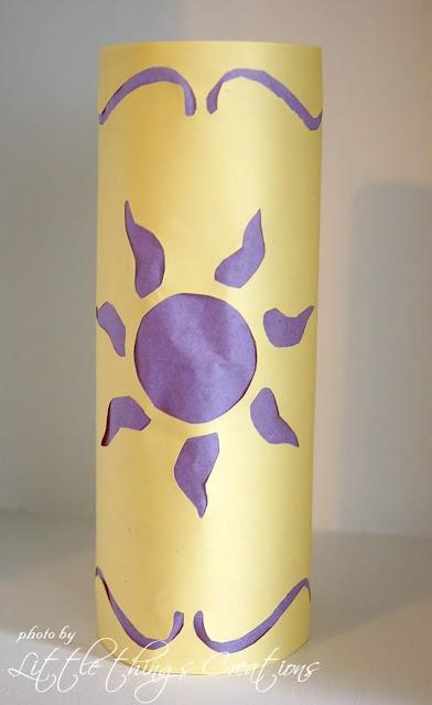 DIY Tangled Lanterns