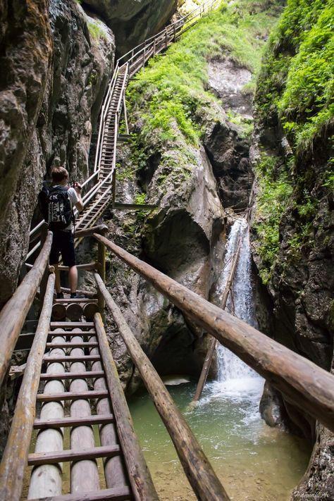 Bärenschützklamm – Austria – #Austria # Bärenschützklamm #waterfall