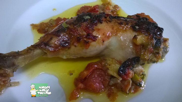 Muslo de Pollo Tomatero
