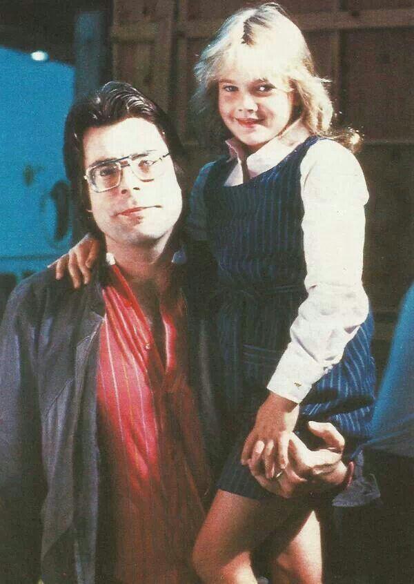 Stephen King & Drew Barrymore. Firestarter