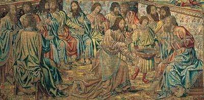 Spe Deus: Quinta-feira Santa, textos de São Josemaría Escrivá - O mandamento novo
