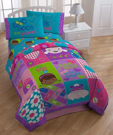 Another great find on #zulily! Doc McStuffins Cuddles Comforter #zulilyfinds