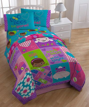 Another great find on #zulily! Doc McStuffins Cuddles Comforter #zulilyfinds