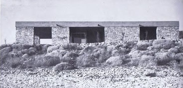 Aris Konstantinidis - Week-end House, Anavissos (1962)