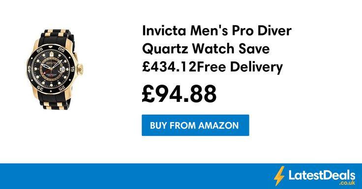 Invicta Men's Pro Diver Quartz Watch Save £434.12 Free Delivery, £94.88 at Amazon