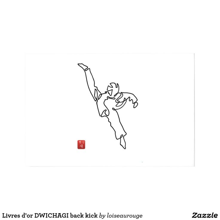 Livres d'or DWICHAGI back kick