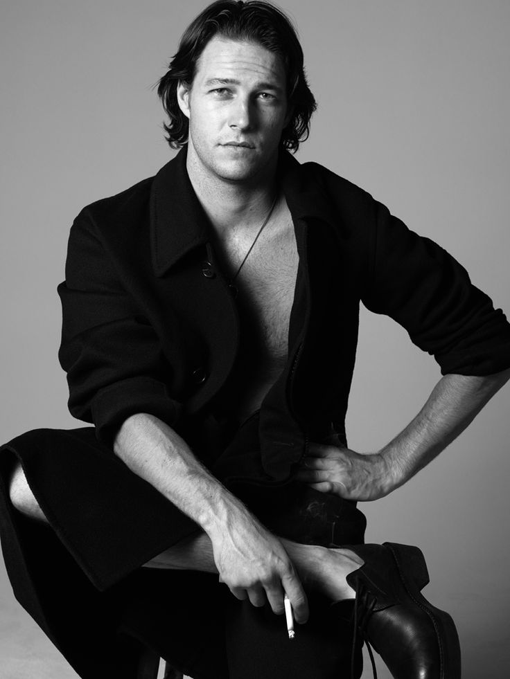 Ansel Elgort, Luke Bracey + More Sport Leather for Interview Magazine