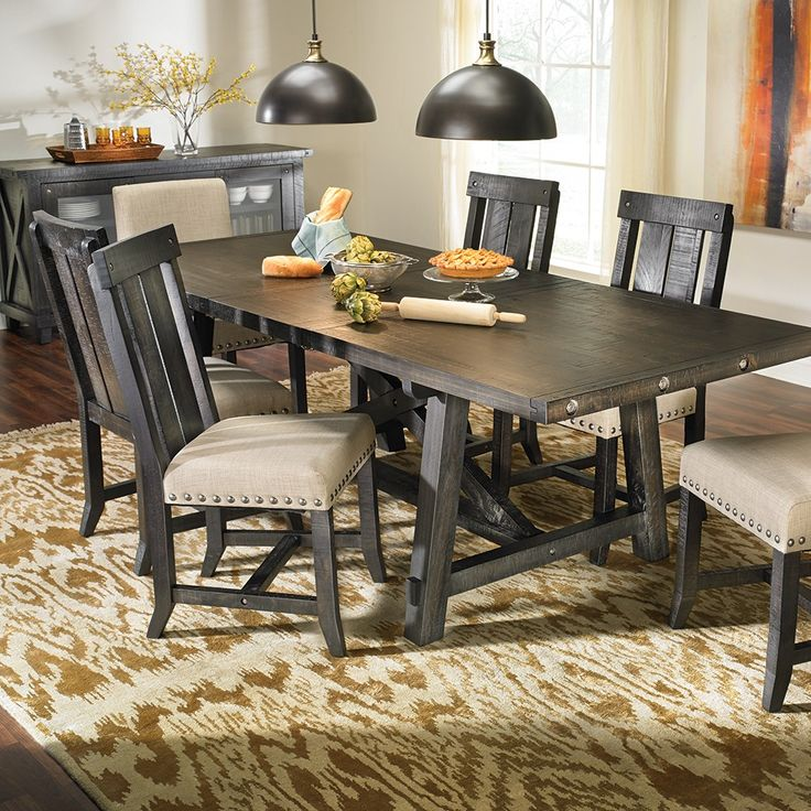 Yosemite 5PC Dining Collection Rustic Dinning Dump FurnitureDining Room