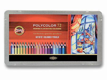 Obrázek produktu Umělecké pastelky Koh-i-noor Polycolor 3827 - 72 barev