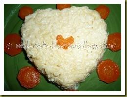 Rice with salmon cream/Risotto delicato con crema al salmone