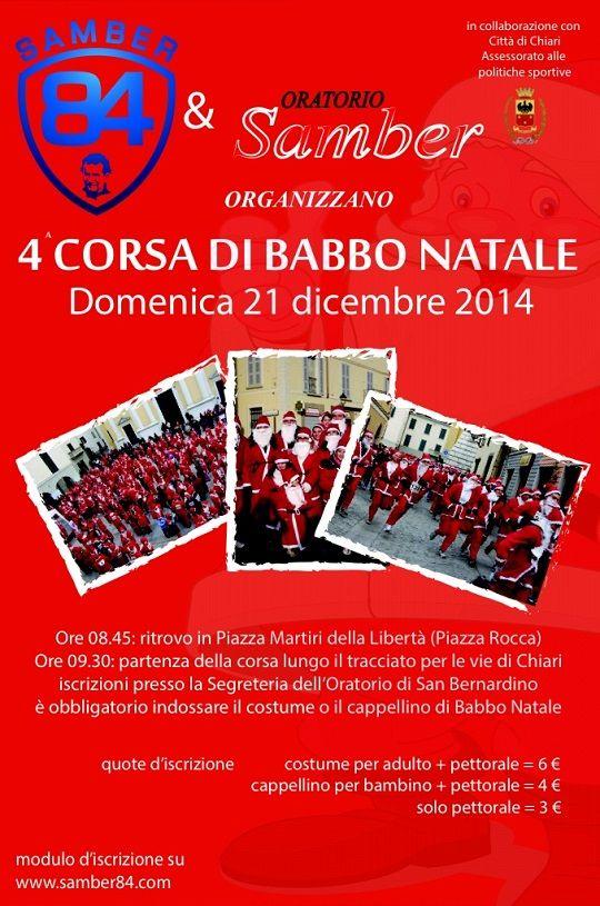 4a Corsa di Babbo Natale a Chiari http://www.panesalamina.com/2014/30743-4-corsa-di-babbo-natale-a-chiari.html