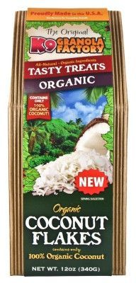 DOG TREATS - BISCUITS & COOKIE - ORGANIC COCONUT FLAKES 12 OZ -