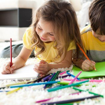 El significado de los colores en los dibujos infantiles.