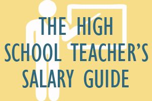 High School Teacher's Salary Guide High school teachers help prepare students for life after graduation. They teach academic lessons and various skills that students will need to attend college and to enter the job market. http://mometrix.com/blog/high-school-teachers-salary-guide/