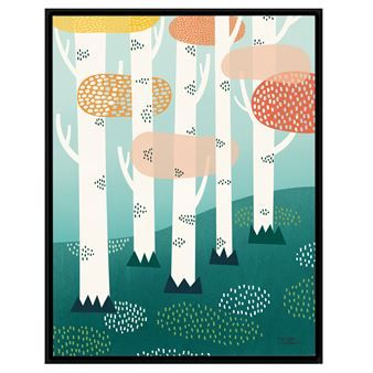 The charming and playful large posters from Michelle Carlslund Illustration is printed on stone paper, an eco-friendly alternative to conventional paper. The posters has different motifs, all with a story and in lovely colors. Find your own favorite and hang it on the wall or why not put it on a bureau
