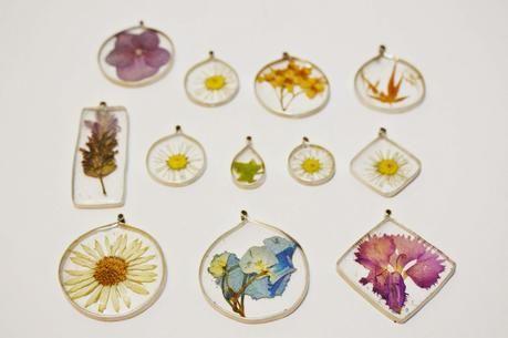 [DIY] Flores encapsuladas en resina