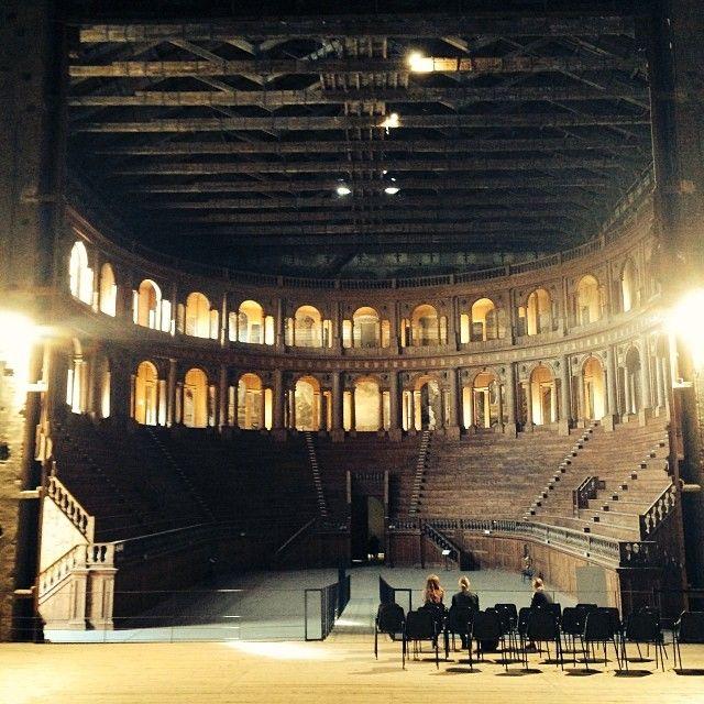 Parma: Palazzo della Pilotta, Teatro Farnese - Instagram by pescevalenzia