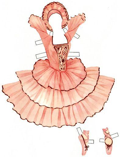 sabrina the prima ballerina gabi 39 s paper dolls paper doll ballet pysselrum pyssel. Black Bedroom Furniture Sets. Home Design Ideas