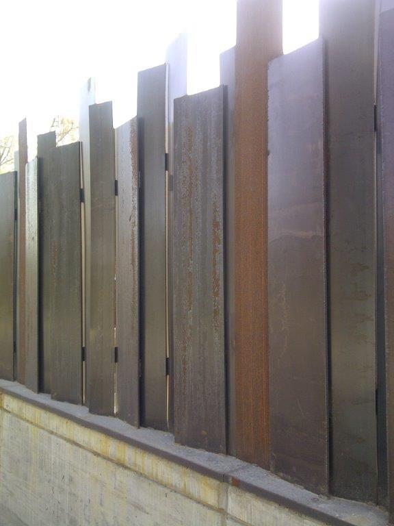 Vallas para todas las viviendas acero decor d - Puertas de valla ...