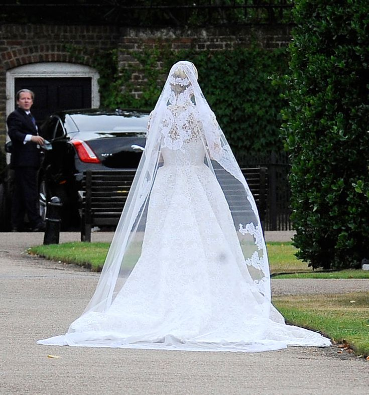 See Every Angle of Nicky Hilton's Stunning Valentino Couture Wedding Dress!   Photo by: Getty Images   TheKnot.com