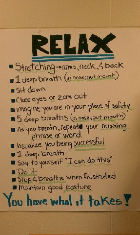 Anxiety. Steps to come back from the brink of a panic attack.