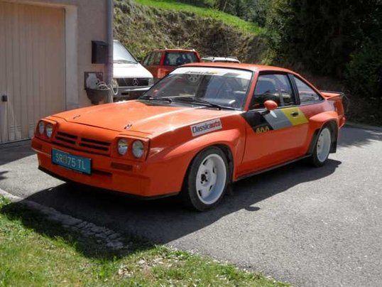 Opel Manta B 2.4L Irmscher 400 GT/E