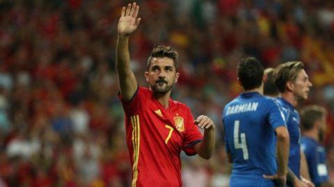 David Villa welcomed back into international football after three years away