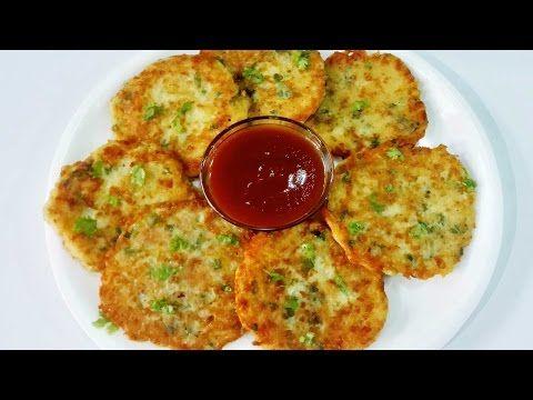 Cheese Potato Pancakes || Potato Cheese Pancakes - YouTube