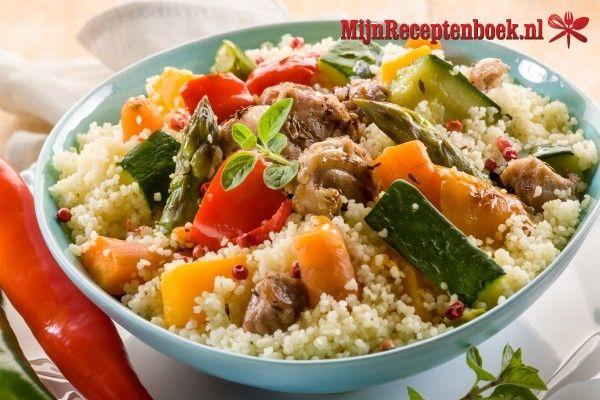 Couscous met 7 groenten (Couscous sebha godaar) recept