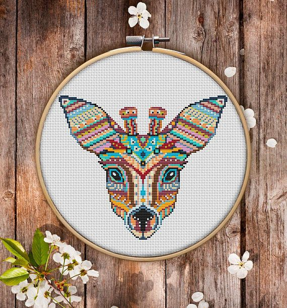 This is modern cross-stitch pattern of Mandala Roe for instant download. You will get 7-pages PDF file, which includes: - main picture for your reference; - colorful scheme for cross-stitch; - list of DMC thread colors (instruction and key section); - list of calculated thread