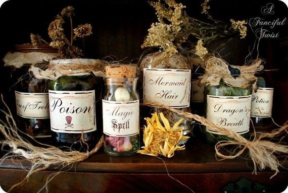 Potions and Spells  Enchantment Set  10 by AFancifulTwist on Etsy, $10.00