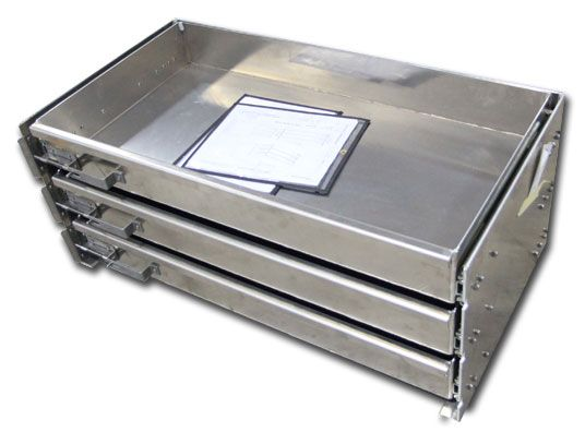 Truck Chest Tool Box >> Truck storage drawers for service bodies and tool boxes by Highway Products. | Truck bed storage ...