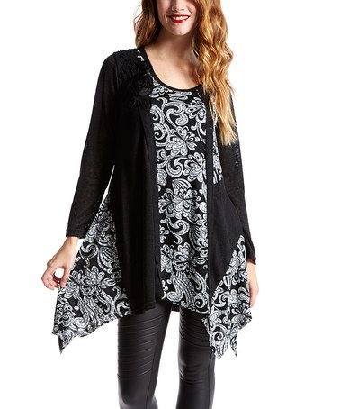 This would really be an easy refashion of a long sleeve t-shirt.