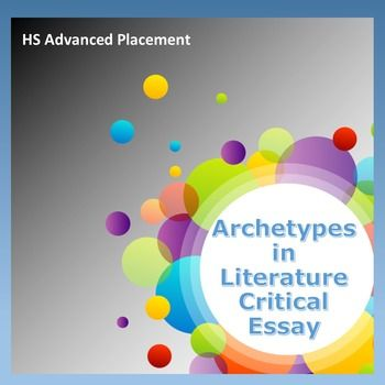 This is the critical essay on literary archetypes that Charlene Tess assigned as a final exam for students in her Advanced Placement classes. It can be used in any literature class as a review exam of archetypes in literature. It includes a prewriting assignment and the rubric Charlene Tess used to grade the students' papers. $