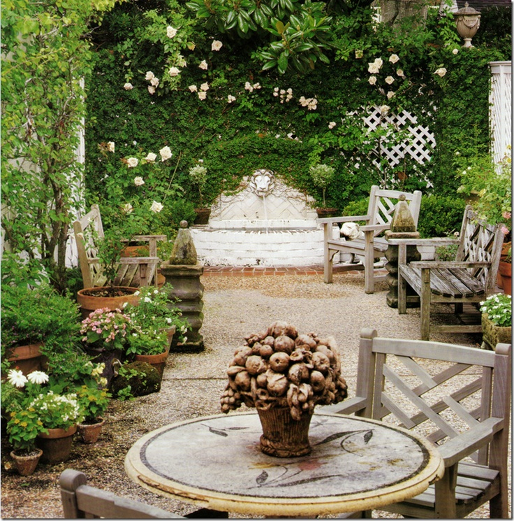 17 best images about my secret gardens on pinterest for English courtyard garden design