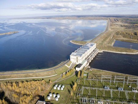 Где находится самое большое водохранилище в России