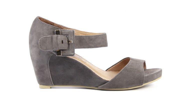 Koop je Di Lauro Sandalen Grijs Suede online! Groot aanbod Di Lauro schoenen online