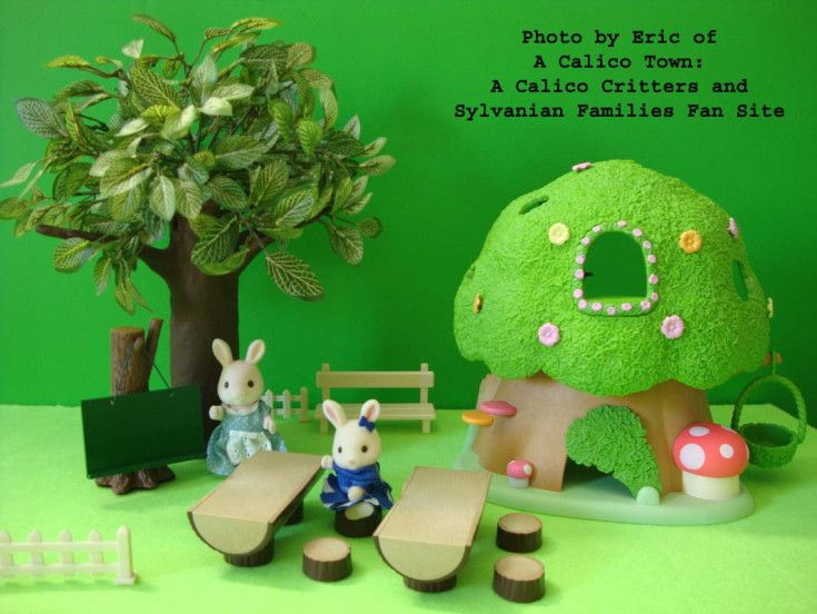 Trees for Calico Critters, diy