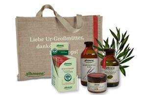 Η alkmene συνεργάζεται με την παράδοση. Συστατικά από την φύση με αξιοπιστία  που εμπνέει τους καταναλωτές Η σειρά απαρτίζετε από προϊόντα περιποίησης  για το σώμα και τα μαλλιά.  Ενδιαφέρεται για την υγεία και την  καλή φυσική κατάσταση!